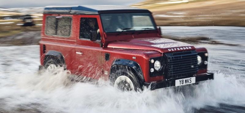 Élet a halál után: visszatér a Land Rover ikonikus kocka terepjárója