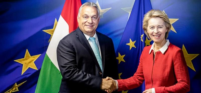 """Orbán: Ursula von der Leyen """"pragmatikus életösztönű vezető"""""""