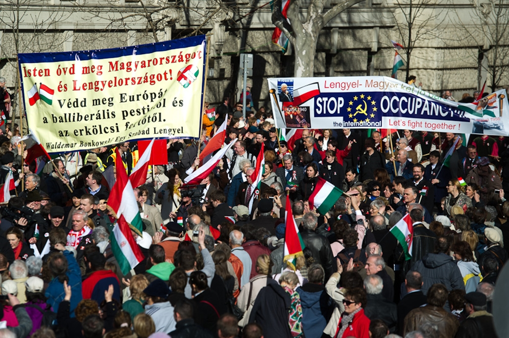 Orbán Viktor, Orbán Viktor beszéd, Kossuth tér, Békemenet