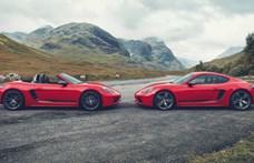 Karácsonyi meglepetés: két új sportkocsit leplezett le a Porsche