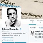 Snowden szupersztár lett a Twitteren