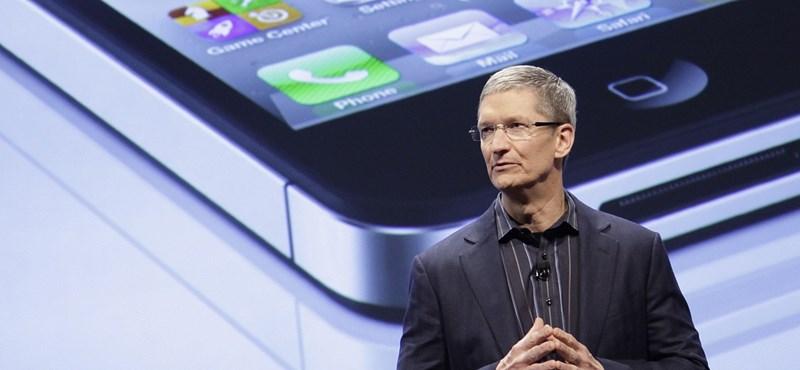 Az Apple-részvények 5,3 százalékot estek Jobs halálhírére