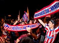 Nem utazott el az Atlético Madrid a BL negyeddöntőjére