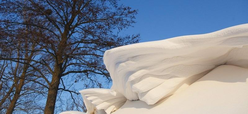 Tovább tart a havazás – itt a figyelmeztetés