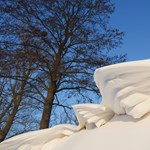 Viharos szél, hófúvás, hótorlaszok: figyelmeztetést adtak ki