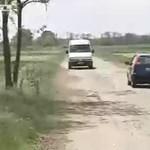 Magyarország egyik legrosszabb útszakasza annyira kátyús, hogy csak saját felelősségre használható