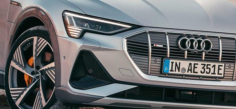 Magyarországon az Audi kupé villanyterepjárója