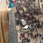 Kiderült, ki robbanthatott az alexandriai katedrálisnál