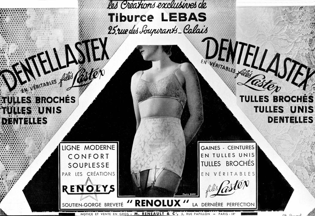 afp.1934. - Franciaország: Melltartó és dzseki - melltartó nagyítás