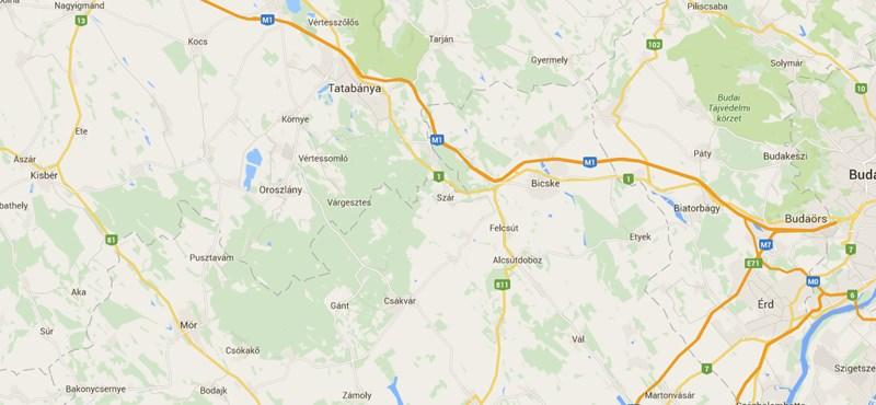 Földrengés volt Fejér megyében