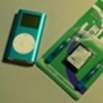 Akkumulátorcsere az iPod miniben (videóval)