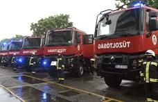Robbanás történt Kispesten egy autószerelő műhelyben