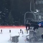 Gyerekek mentették meg egy fiú életét egy kanadai sípályán – videó