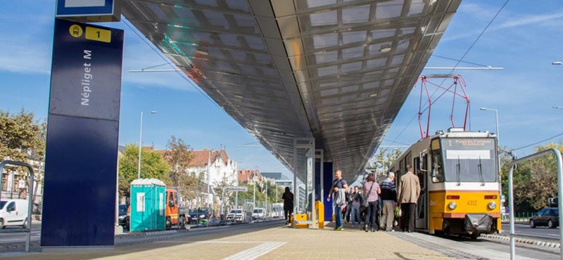 Újabb felújítás jön az 1-es villamosvonalon