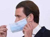 """Ausztriában már """"csak"""" 187-en fertőződtek meg az elmúlt 24 órában"""