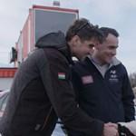 12 éves pilóta Michelisz magyar versenycsapatában