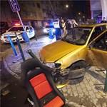 Fotó: súlyos baleset történt a Lehel téren