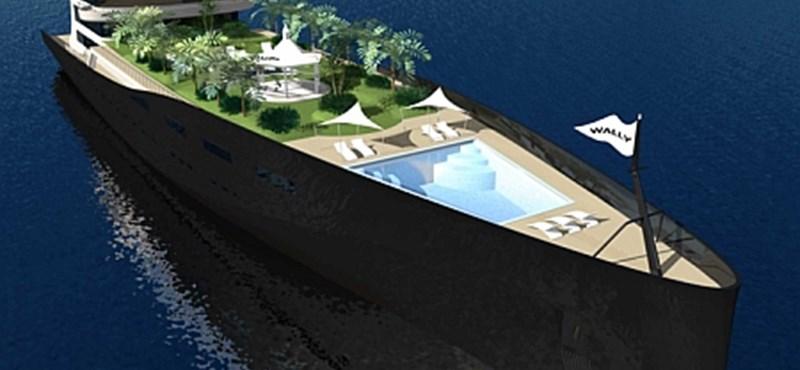 Óriás luxusjachtot épít a Wally Yachts