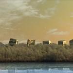 Hatcsillagos hotel épül Esztergomban - látványtervek