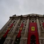 Begördültek a Ferrari részvényei a milánói tőzsdére