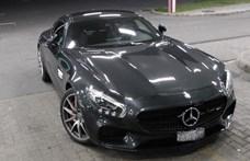 510 lóerős lopott Mercedes-AMG GT bukkant fel Röszkén
