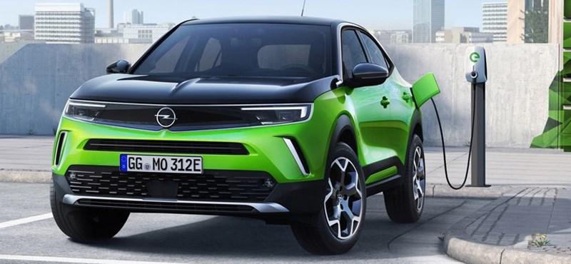Itt a teljesen új Opel Mokka, tisztán elektromos változatban is