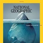 Briliáns a National Geographic címlapja, pedig csak egy zacskó van rajta