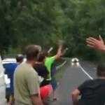 Hiába fújták le a Budapest Rally-t valakik nem bírtak magukkal – videó