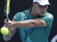 Fucsovics Márton győzelemmel kezdett az Australian Openen