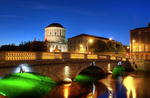 A Liffey folyó Dublinban