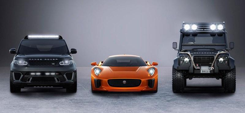 Ezek az autók lesznek az új James Bond filmben - videó