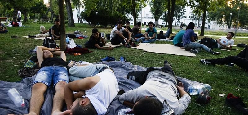 Száztízezerre nőtt a Magyarországra érkező menedékkérők száma
