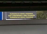 Kecskeméten háttal szerelték fel a digitális menetrend táblát