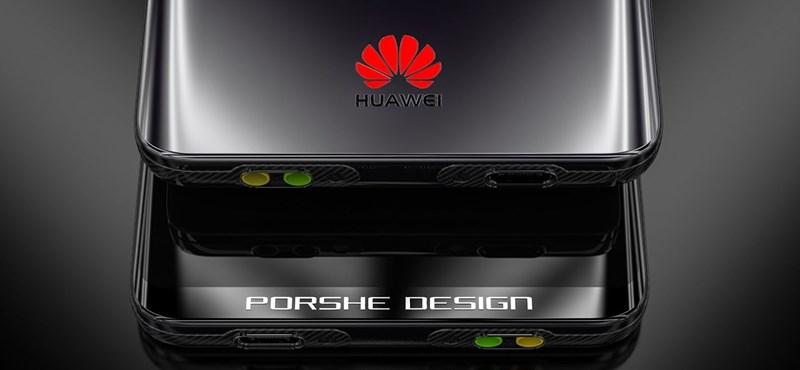Látványos: ilyen lehetne a Huawei csúcsmobiljának Turbo Porsche-kiadása
