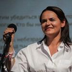 Cihanouszkaja: Kész vagyok irányítani az országot