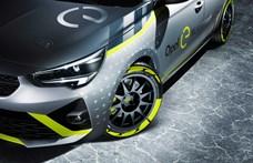 Jó húzásnak tűnik az Opel elektromos raliautója