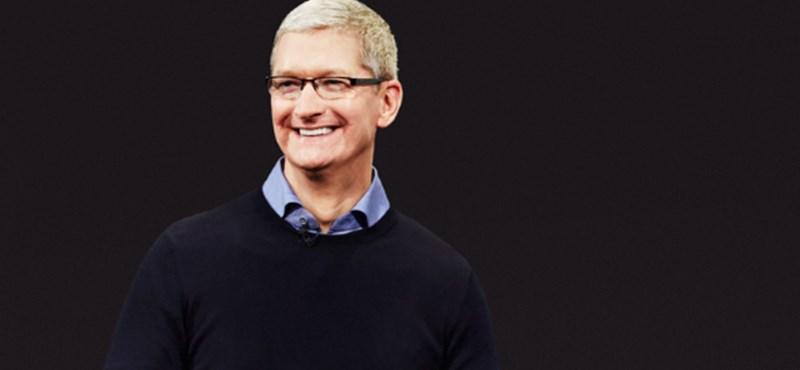 Okkal mosolyognak: szinte számolatlanul ömlik a pénz az Apple-höz
