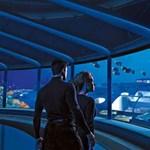 Dubaj legújabb világcsodája: luxushotel a tenger mélyén