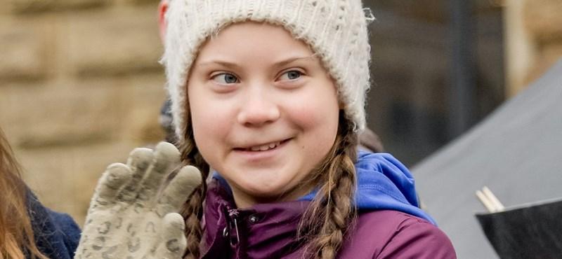 Nekimentek Orbánnak a klímasztrájkoló svéd lány követői