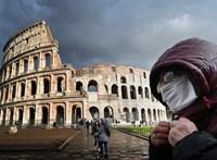 Több olasz tartományban ismét a veszélyességi szint fölött a járvány terjedése