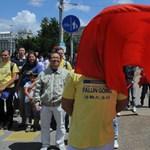 Ombudsman: hiba volt a tibeti tüntetők elleni eljárás