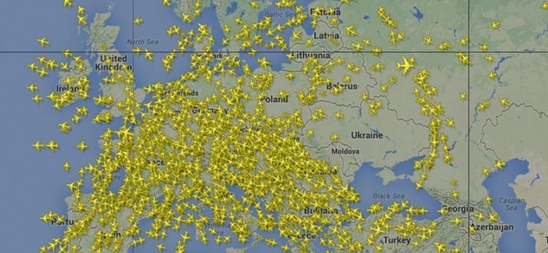 Ukrajna fölött az ég - a nagy semmi