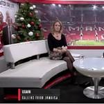 Videó: Ilyen, amikor Usain Bolt kedvesen beletrollkodik egy élő adásba