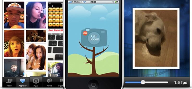 GIF animációk készítése és megosztása iPhone-on