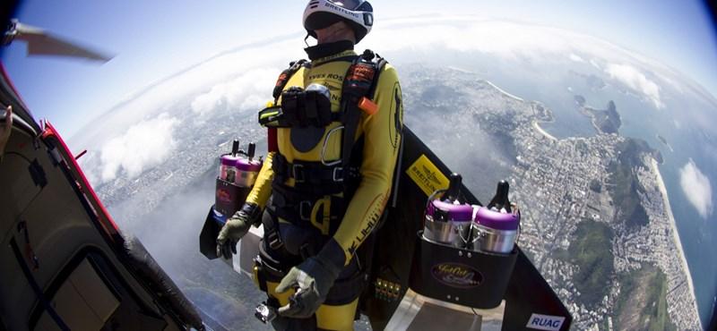Fotók: Rió felett repült a sugárhajtású ember