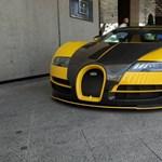 Videón is az egyedi, 1145 lóerős Bugatti Veyron, ami Budapesten korzózott