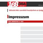 A tulajdonos szerint nincs megfélemlítési szándék a 168 Óra főszerkesztőjének kirúgása mögött