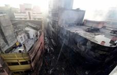 Több tucatnyi halálos áldozata van a dakkai tűzvésznek