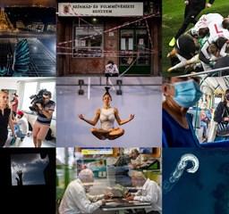 Kihalt utcák és repterek, kuckózás, szorongás, tüntetések – a HVG idei legjobb fotói