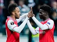 Az Arsenal nem kegyelmezett a Frankfurtnak
